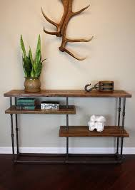 industrial reclaimed wood furniture. galvy console industrial style table reclaimed by wearemfeo 147500 wood furniture