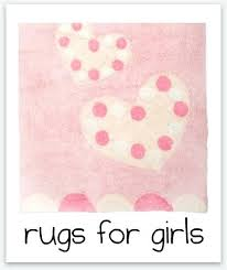 baby girl rugs for room girls pink heart nursery area round