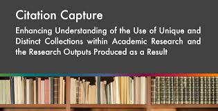 Citation Capture Report Research Libraries Uk