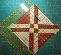27 best Omnigrid Quilting Rulers images on Pinterest | Cuttings ... & Squaring Up Quilt Blocks using an Omnigrid ruler Adamdwight.com