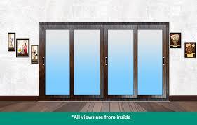 rapturous panel sliding glass door sliding door mm colour track glass panel without