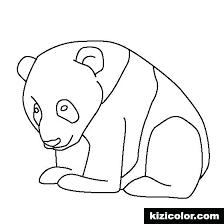 Baby Panda Coloring Page Panda Coloring Cute Panda Coloring Pages