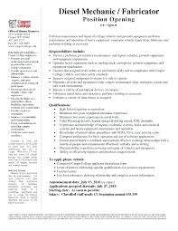 Heavy Equipment Maintenance Job Description Horoscopul Org