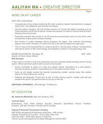 ... Designer Resume Samples A Collection Of Ideas To Try Over 50 Resume  Template