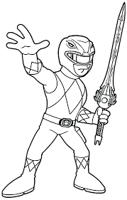 Power Rangers Dino Charge Megazord Coloring Pages Power Rangers