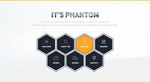 Phantom Creative Cvresume Bootstrap Template Graygrids