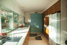 modern home architecture interior. Contemporary Interior Windows To The Backyard Line Galley Kitchen Wall For Modern Home Architecture Interior M