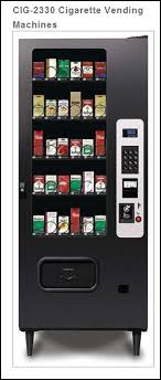 Vending Machine New New NEW CIG48 48 Selection Cigarette Vending Machine 48 Selection