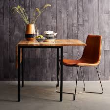 Box Frame Drop Leaf Expandable Table West Elm Fascinating Dining Table For Small Room Model