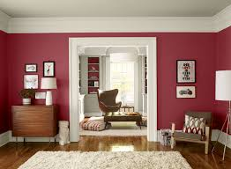 Paint Combinations For Living Room Red Living Room Ideas Upbeat Berry Red Living Room Paint