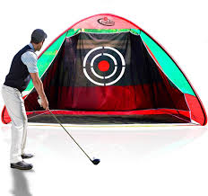 Amazon.com : Gagalileo Golf Nets Golf Hitting Net Training Aid Driving  Range 10.3'(L) X6'(W) X6.5'(H) Pop Up Golf Net for Backyard Driving with  Target Carry Bag : Sports & Outdoors