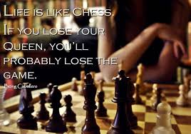 Teamwork King And Queen Chess Quote