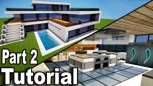 modern house inside. Plain House Minecraft Realistic Modern House Tutorial Part 2  Interior How To Build  A  YouTube On Inside R