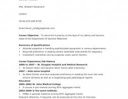 resume medical student best photos medical template curriculum vitae physician resume