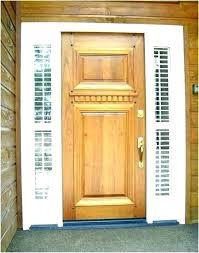 replace glass panels in front door doors exterior wood front doors exterior door frame cost to