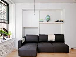 cozy murphy bed with sofa stroovi