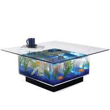 furniture fish tanks. Midwest Tropical Aquarium Coffee Table - 25 Gallon Freshwater Acrylic (675) Furniture Fish Tanks