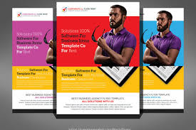 flyer companies apps flyer by business templates design bundles