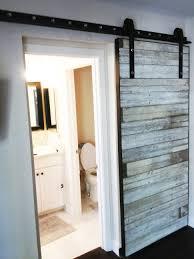 Bathrooms Design : Sliding Wood Door Installation For Doors ...