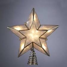 Christmas Tree Lighted Star