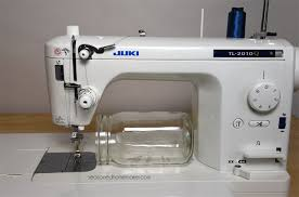 Review of My New Juki TL-2010Q - The Seasoned Homemaker & Review of the Juki TL-2010Q sewing and quilting machine. A straight stitch  sewing Adamdwight.com