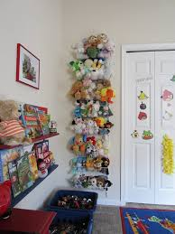 Contemporary Kids Bedroom with Stuffed Animal Storage Ideas Pictures, and  Wall