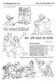 Blinde Bartimeus Google Search Bible Bijbel Knutselen
