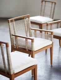 palecek amalfi outdoor arm chair teak