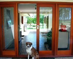 door with pet door doors with pet door built in french door dog door french door