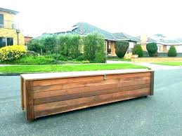 how to build storage bench seat your own diy outdoor plans st