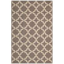 cerelia in light and dark beige 8 ft x 10 ft moroccan trellis indoor