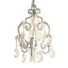 plug in mini chandelier 3 light white diamond mini chandelier plug in mini chandelier