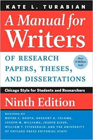 com a manual for writers of research papers theses and  a manual for writers of research papers theses and dissertations ninth edition chicago style for students and researchers chicago guides to writing