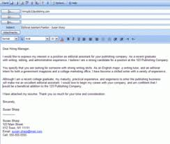 sample email for job application 40 undergraduate sample email for job application with resume in