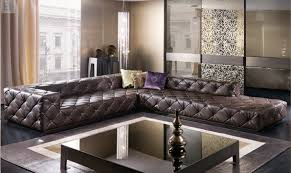 modern italian furniture living room. online shop top graded italian genuine leather sofa sectional living room chesterfield l shape with crystal buttons sf314 stock | aliexpress modern furniture d