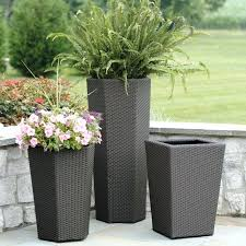 planters and pots tall used planting
