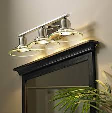 Kichler Galileo 3 Light Allen Roth 3 Light Galileo Brushed Nickel Bathroom Vanity Light