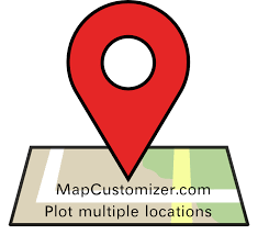 google locator maps create a map mapcustomizer com