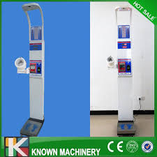 How Much Does A Vending Machine Weigh Gorgeous Vending Ultrasonic Height Weight BMI Blood Pressure Machine With