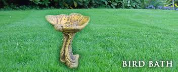 bird bath fountains statuary