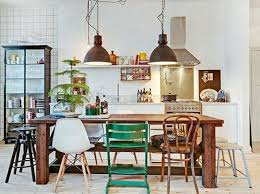 10 style tips for pulling off a mix match dining set apartment