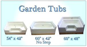 garden tub dimensions bath tubs and showers for mobile home manufactured housing what is a garden garden tub