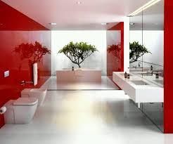 modern bathroom colors ideas photos. Bathroom. Luxury Modern Bathroom Designs Ideas. Features Red And White Colors Ideas Photos