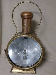 Antique Boat Navigation Lights Sbb Locomotive Lamp Made Of Brass This Lantern Is A Replica