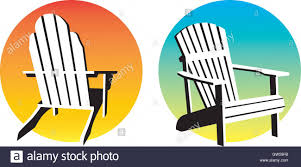 adirondack chairs on beach sunset. Exellent Chairs Adirondack Chair Sunset GraphicsTwo Sunshine Design Elements With Beach  Chair Illustrations Scalable And Editable Vector Designs For Chairs On Beach R
