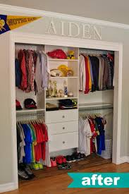 kids walk in closet organizer. Kids Closet Organization Ideas. LOVE NAME UP TOP. Walk In Organizer A