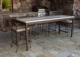 cyprus counter height table ccs 110 w stools 155 iron