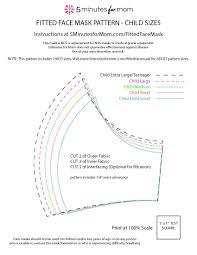 best ed face mask pattern pdf in 9