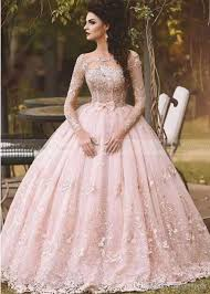 pink wedding gowns. Discount Vestido De Novia 2017 Country Blush Pink Lace Ball Gown