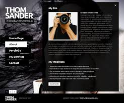 Free Photography Website Templates Enchanting Free Full JS Website Template Photography